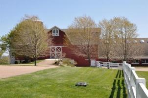 View of Hobbit Hollow Farm Main Barn