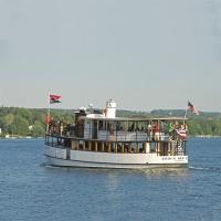 Judge Ben Wiles cruising Skaneateles Lake