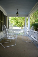 Front Porch OverLooking White Birch Vineyard and Skaneateles Lake