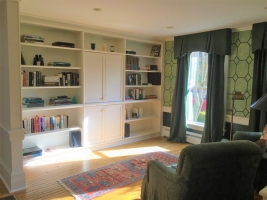 Library and TV Room