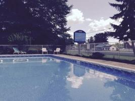 Big outdoor swimming pool